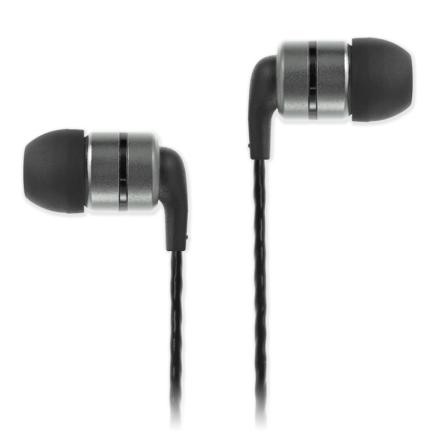 SoundMAGIC E80 Hörlurar Svart/Gunmetal