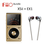FiiO X5 II Digital Audio Player + FiiO EX1 Hörlurar Bundle