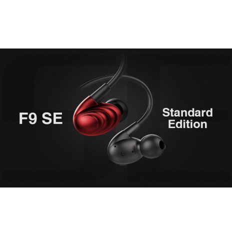 FiiO F9 SE In-ear hörlurar STANDARD EDITION SVART