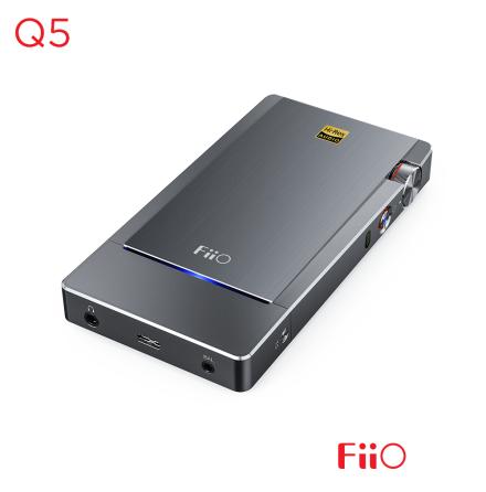 FiiO Q5 Flagship DAC / Amp med Dual DAC, USB / Optisk / Koaxial / Linje in