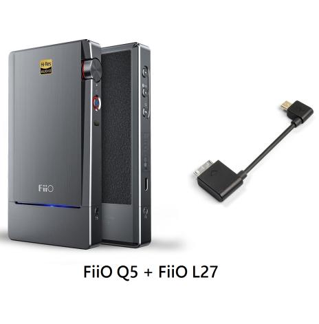 FiiO Q5 + FiiO L27 Sony Kompatibel kabel (Bundle)