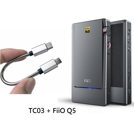 FiiO Q5 + TC03 Samsung Kompatibel (bundle)