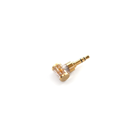 ddHiFi DJ35AG Gold Edition 2.5mm to 3.5mm Headphone Adapter